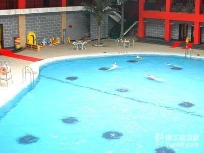 室内温泉游乐宫,温泉游泳馆