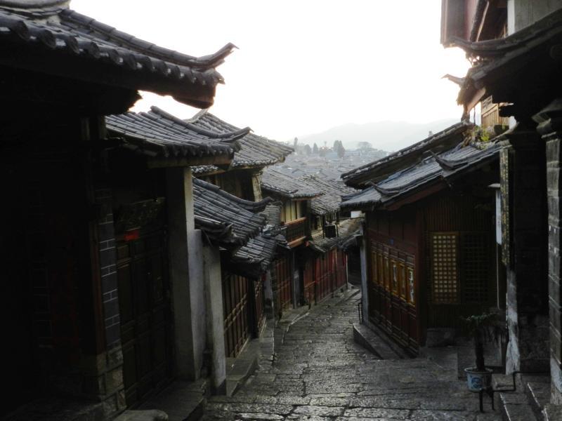 古城子街道风景