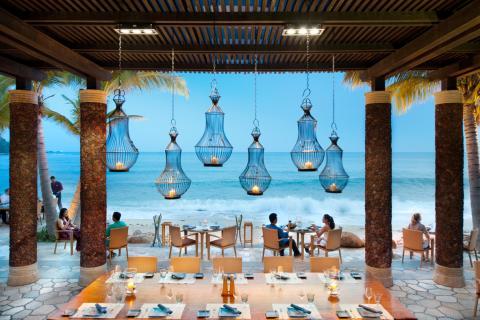 文华东方酒店的海鲜餐厅