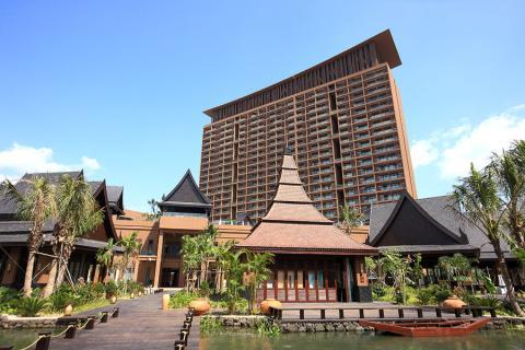 海南三亚5日自助游>三亚湾红树林度假世界,全生活概念度假酒店