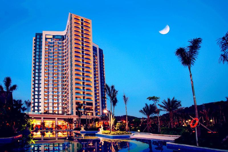 海南三亚5日自助游>三亚凤凰水城凯莱度假酒店,简单而不失华丽的设计