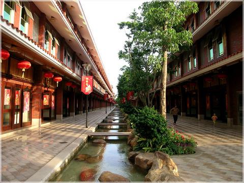 客家围龙屋建筑文化 梅县雁南飞度假村之旅