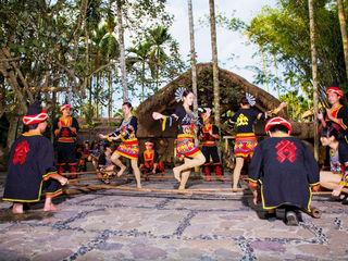 槟榔谷民俗表演