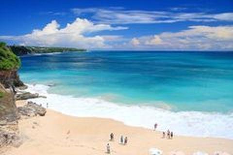 <巴厘岛4晚6日游>白沙湾海滩,漂流,蓝色天堂海景下午茶,直飞